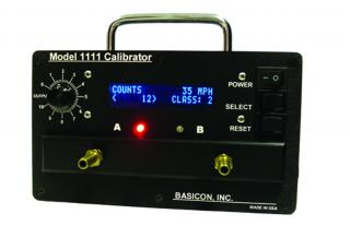 Traffic counter calibrator and tester