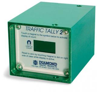 Traffic Tally 2 Portable Traffic Vehicle Counter