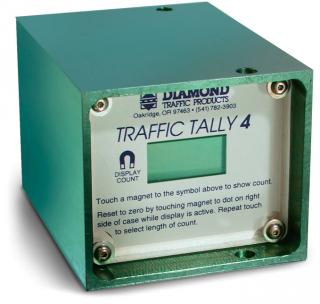 Portable Vehicle Traffic Counter, Traffic Tally 4
